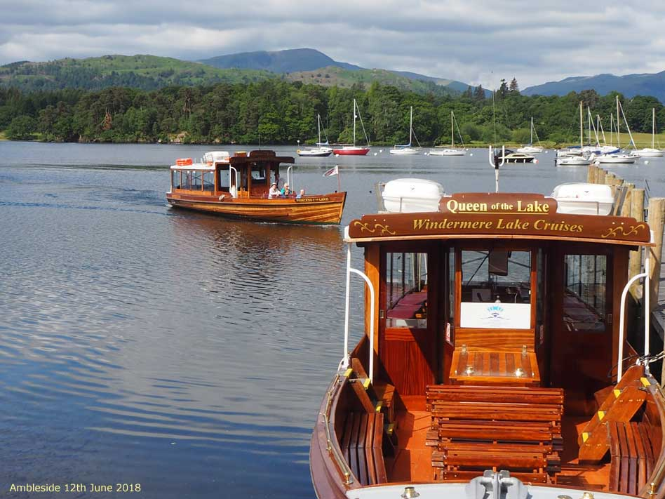 Ambleside Boat Tour Princess of the Lakes