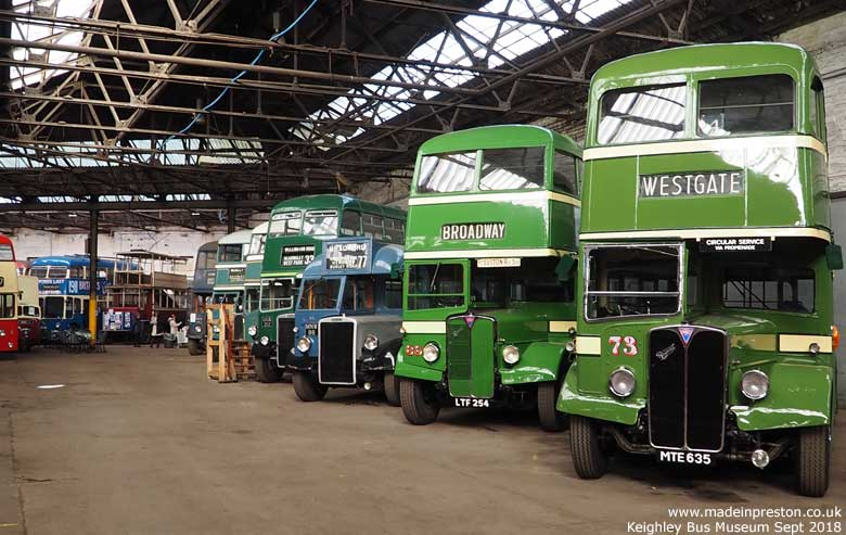 Keighley Bus Museum Sept 2018
