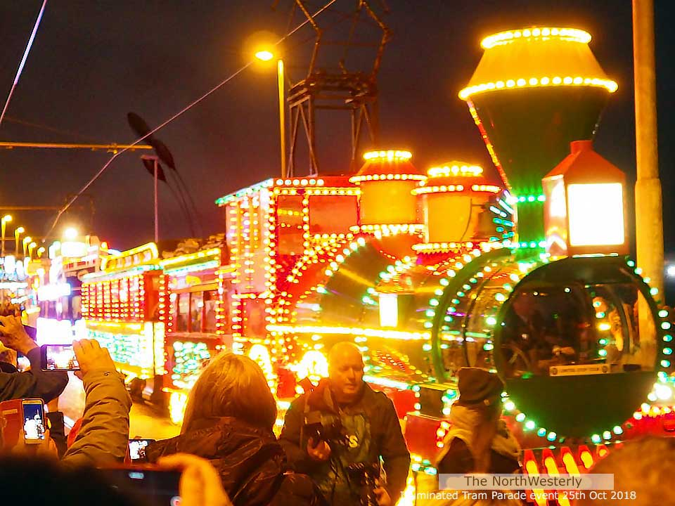 Blackpool Illuminated Tram Parade 25th October 2018