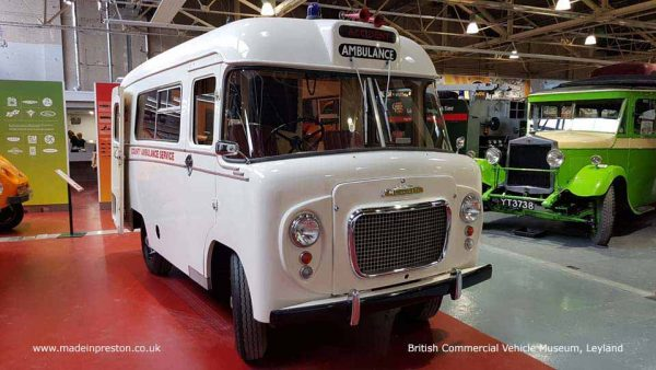 British Commercial Vehicle Museum, Leyland. February 2019
