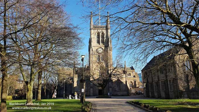 Blackburn Cathedral January 2019