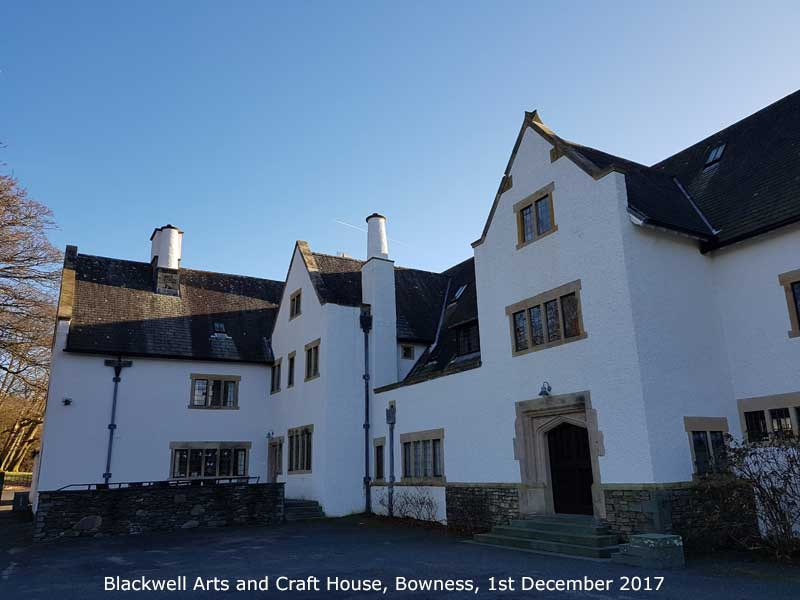 Blackwell Arts and Craft House, near Bowness