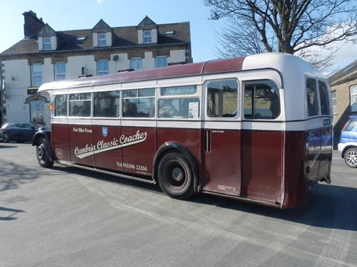 Preston Corporation Transport Bus at Kirkby Stephen