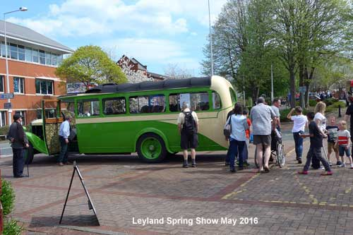 British Commercial Vehicle Museum, Leyland. Spring Show 8th May 2016