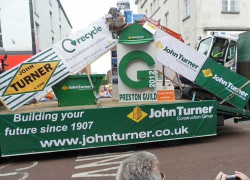 Preston Guild Trade Procession - John Turner