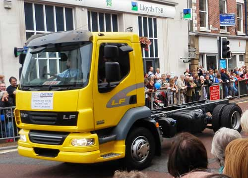Preston Guild Trade Procession Leyland Trucks