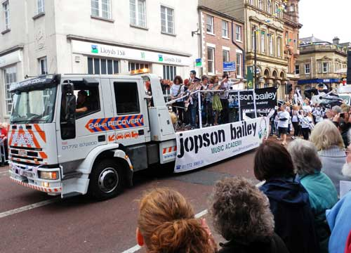 Preston Guild 2012 Trade Procession - Jopson Bailey Music Academy