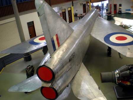 English Electric Lightning aircraft - made in Preston
