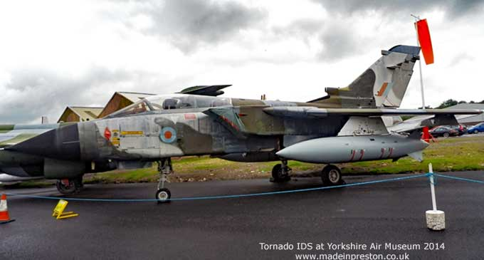Tornado IDS at Yorkshire Aircraft Museum