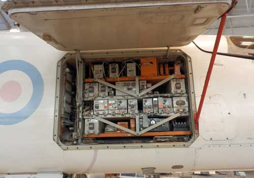 The TSR2 avionics bay