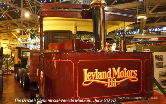 Leyland Motors Steam Vehicle