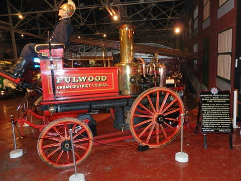 Fulwood Fire Tender