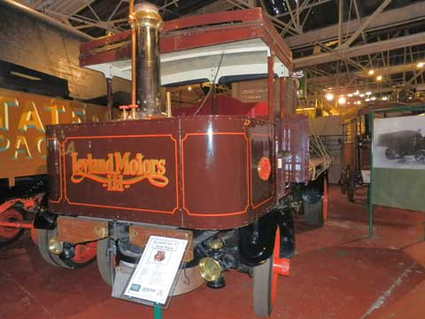 Leyland Steam Vehicle