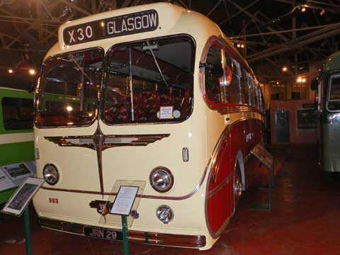 Leyland Tiger coach