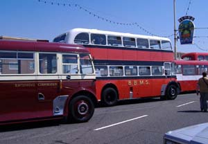 Rawtenstall Transport and BBMS buses