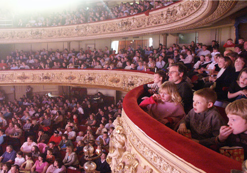 inside the beautiful Grand Theatre