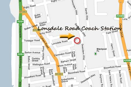 lonsdale road coach station directions map