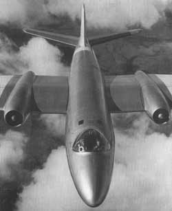 Canberra T Mk4 aircraft - made in Preston