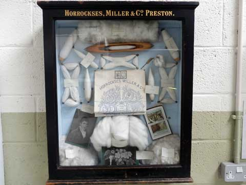 John Horrocks Mill display at Queen Street Mill Textile Museum, Burnley