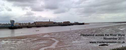 Fleetwood across the River Wyre