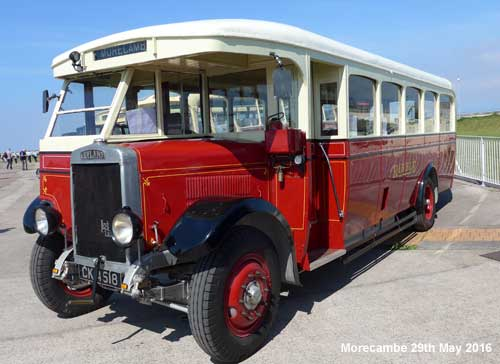 Ribble Vehicle Preservation Group Morecambe Running Day 29th May 2016