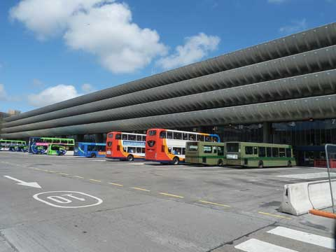 Preston Bus Station an iconic building to be demolished.