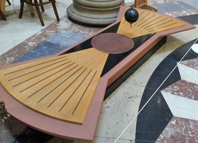 Foucault Pendulum in the Harris Museum Preston