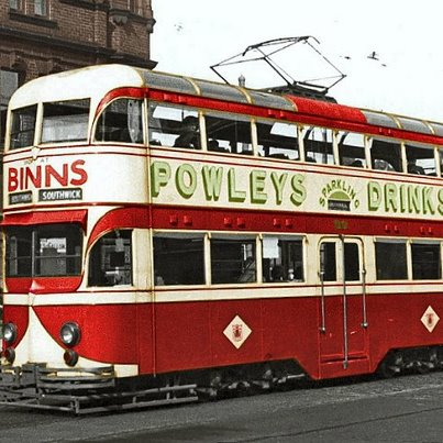 Sunderland Tram, photo by Malcolm Fraser