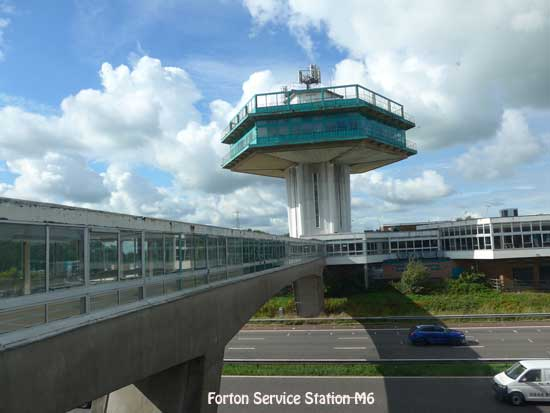 Forton Services M6 just north of Preston