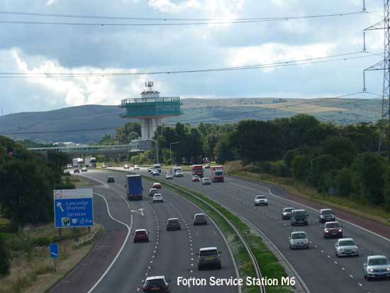 Forton Services M6 north of Preston
