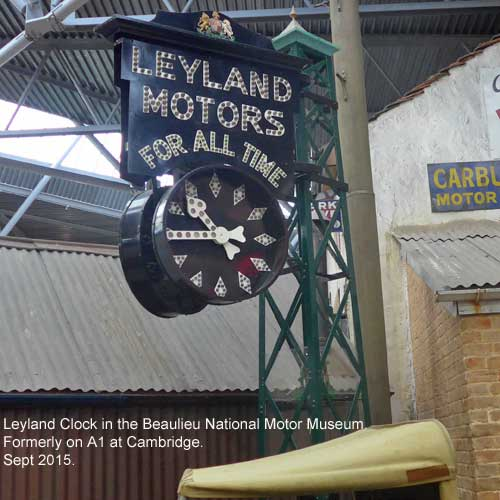 Leyland Clock at Beaulieu