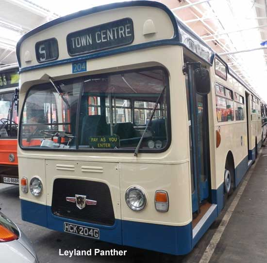 Leyland Panther, Preston Corporation