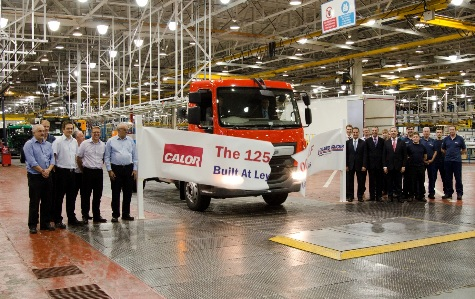 Leyland Trucks has produced the 125,000th DAF LF at its state-of-the-art factory in Leyland, Lancashire.
