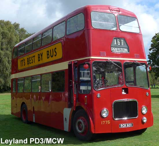 Leyland PD3 MCW