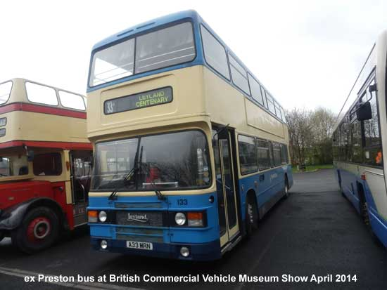 ex Preston Bus at Leyland