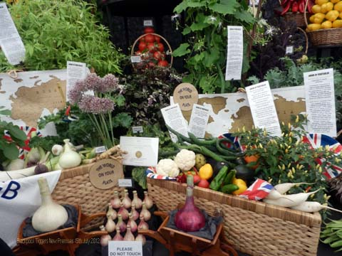 Robinsons Mammoth Onion win Gold at Tatton RHS Show 2012