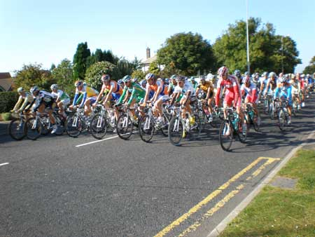 Tour of Britain Cycle Race photo