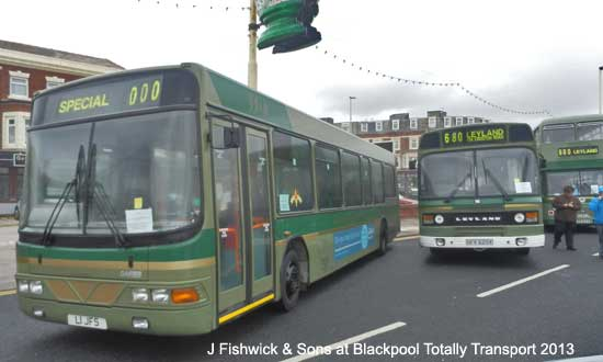 John Fishwick & Sons bus