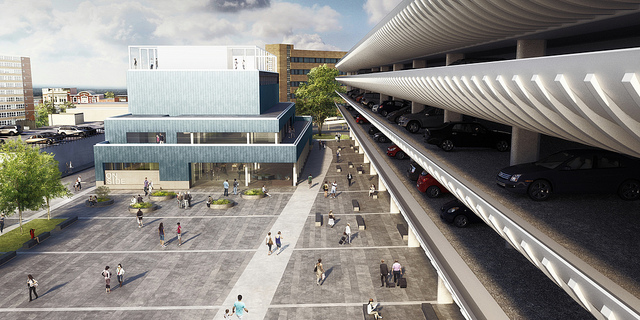 Preston Bus Station and Youth Zone modified design