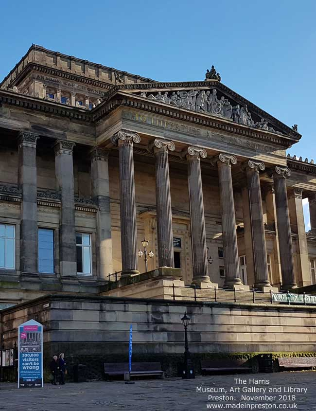 The Harris, Museum, Art Gallery and Library. Preston.
