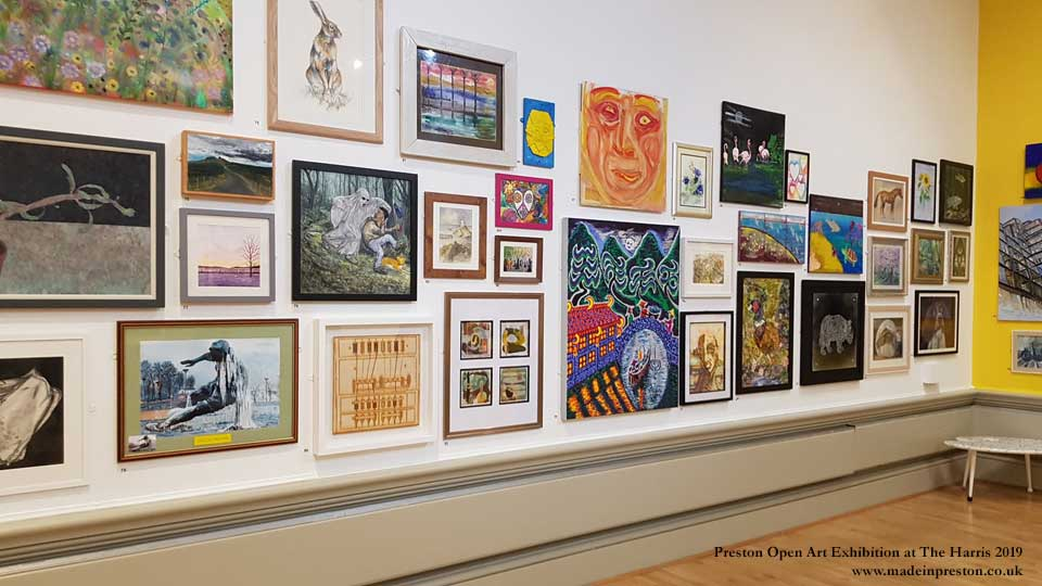 Preston Open Art Exhibition 2019 at The Harris