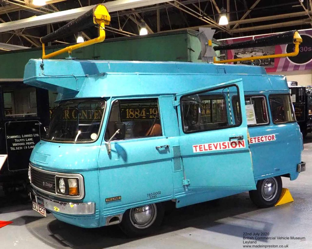 The TV Detector Van at the British Commercial Vehicle Museum