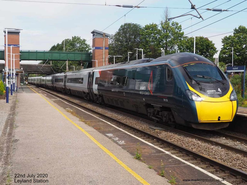 Pendolino 'City of Preston'
